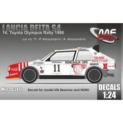 Lancia Delta S4 Olympus...