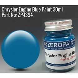 Chrysler Engine Blue