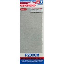 Finishing Abrasives P2000 3pc
