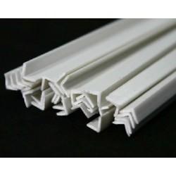Styrene L-rod 4,3x4,3 mm (...
