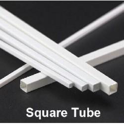 Square Tube 4x4mm 4pc