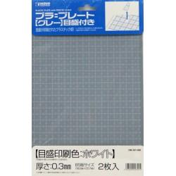 Plastic Plate Gray 0,3mm