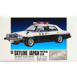 '84 Skyline Japan Patrol car