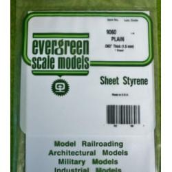 White Styrene sheet 1,5 mm