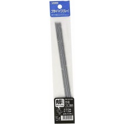 Pla Pipe Gray Thick 3.0mm 5pc