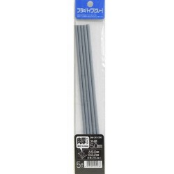 Pla Pipe Gray Thick 5mm 5pc