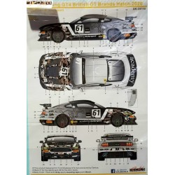 Ford Mustang GT4 Brands...