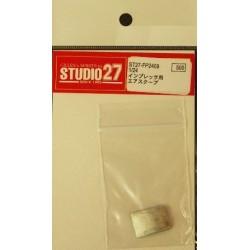 1/24 Impreza white metal...
