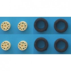 1/24 Gravel tyres & wheels...