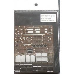 1/20 F-1 2000 Upgrade parts