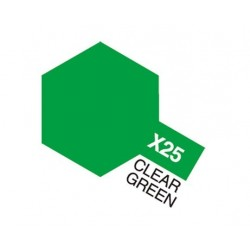 X-25 Clear Green