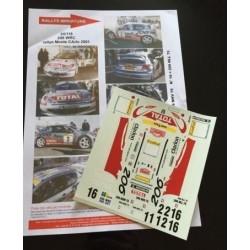 1/24 PEUGEOT 206 WRC...