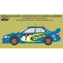 Subaru Impreza WRC -SWRT...