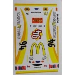 94 McDonalds Drive Thru...