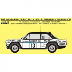 Fiat 131 Abarth FIAT UK -...