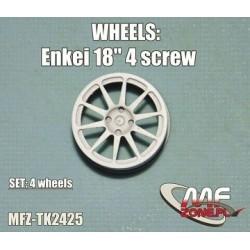 Enkei Wheels 10 spoke 4 screw