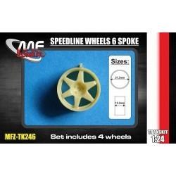 Speedline wheels 6 spoke 5...