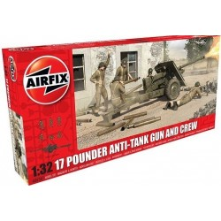 17 Pdr Anti-Tank Gun with...