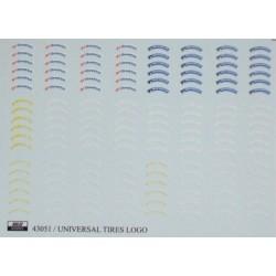 Universal tires logo 1/24