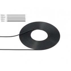 Cable 0,8 mm Black