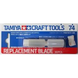 Design knife blade 30pc