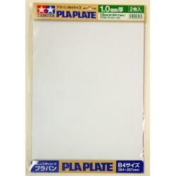 Plastic Plate 1.0 mm B4