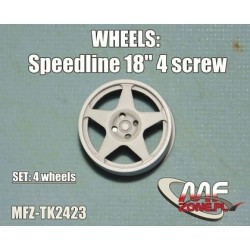 Speedline wheels 5 spoke 4...