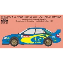 Subaru Impreza WRC SWRT...
