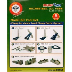 Model kit tool set Clamps etc.