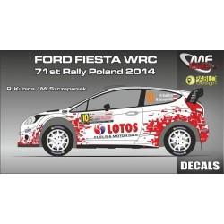 Ford Fiesta WRC Kubica...