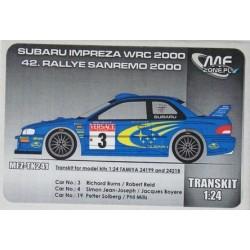 1/24 Subaru Impreza S6 WRC...