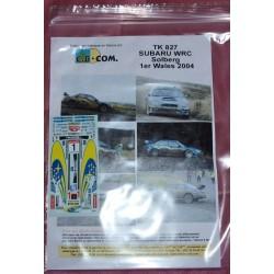Subaru WRC Solberg Wales...