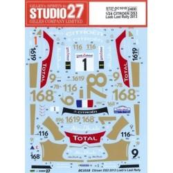 1/24 Citroen DS3 WRC Loeb...