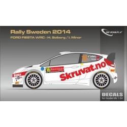 Ford Fiesta WRC Solberg...