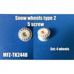 Snow wheels type 2 - 5 screw