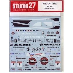 1/24 Honda NSX Super GT  2009