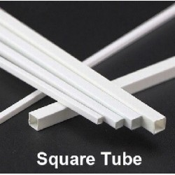 Square Tube 3 x 3 mm 5pc