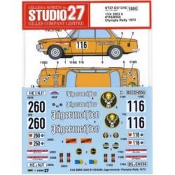 BMW 2002 ti Jägermeister...