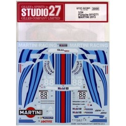 Porsche 911GT1 Martini 2013