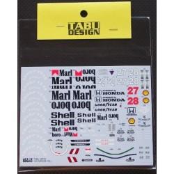 Mclaren MP4/5B Full Sponsor