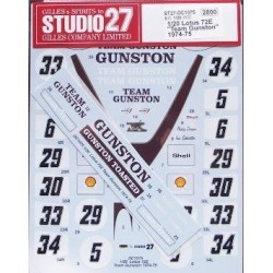 1/20 Lotus 72D Team Gunston...