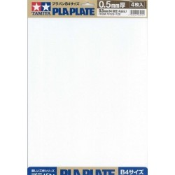 Pla-Plate 0.5mm B4 4pc