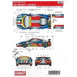 1/24 AF Corse Ferrari 458...