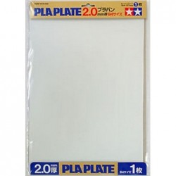 Pla-Plate 2,0 mm B4 1pc