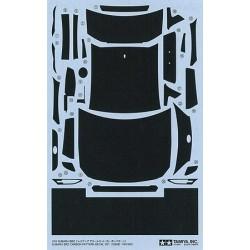 Subaru BRZ carbon decal 1/24