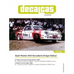 Opel Manta 400 Malboro...