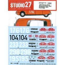 1/24 Citroen DS19 Monte...