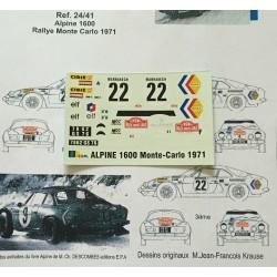 Alpine Renault A110 Andruet...