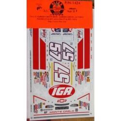 1/24 57 IGA Chevy