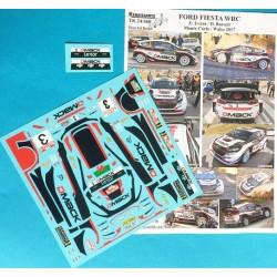 Ford Fiesta WRC Dmack Elfyn...